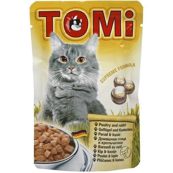 Tomi hrana za mačke živina/zečetina 100g ( TM43006 )