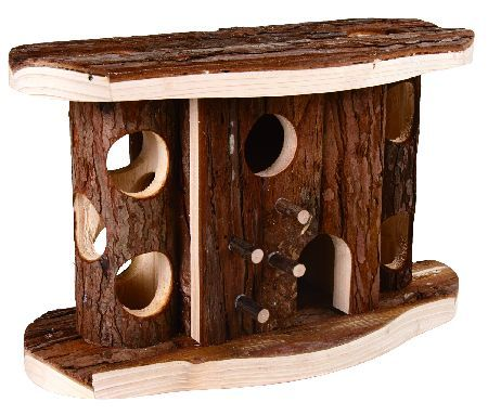 Trixie Jytte kućica za hrčka, prirodno drvo, 28x17x12cm ( 61646 )