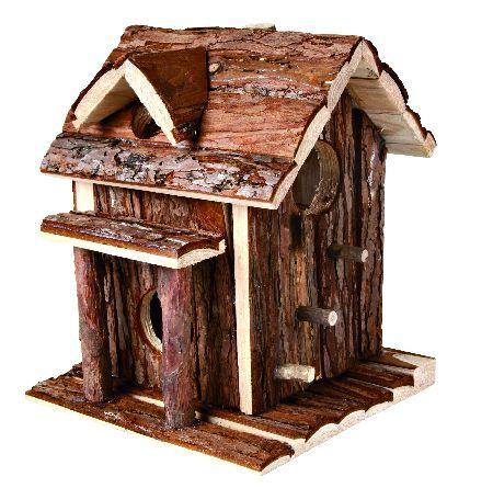 Trixie Ronja XL, kućica za hrčke, prirodno drvo, 19 x 23 x 19 cm  ( 61702 )