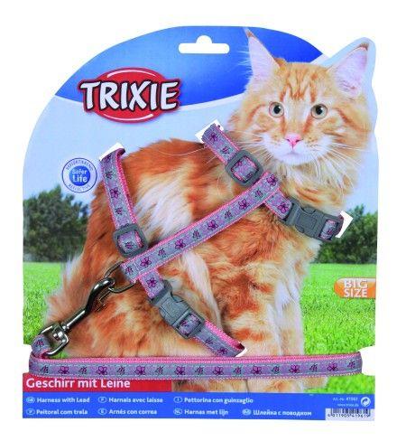 Trixie Am/povodnik Flowe&Buterfly, za velike mačke ( 41961 )