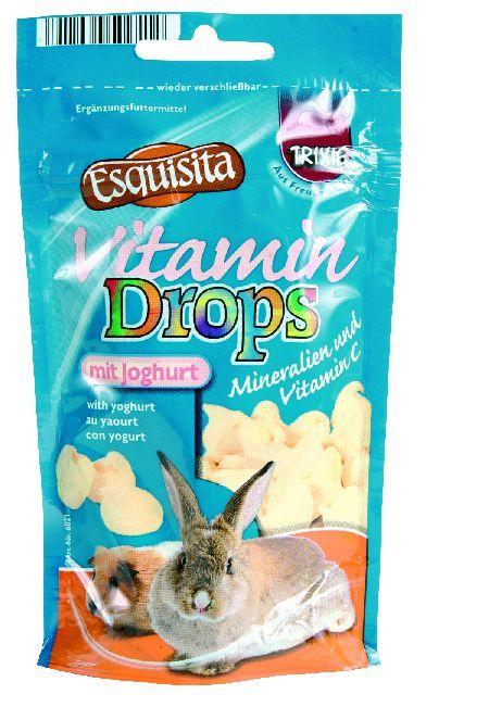 Trixie Bonbone vitamnske za zečeve sa jogurtom,vitamin C ,75g. ( 6021 )