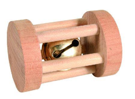 Trixie Drvene rolna za igranje, za male zivotinje, 3.5 cm x 5 cm ( 6183 )