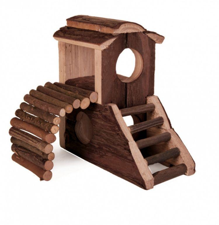Trixie Dvorac za igru, drvo 17.3x10.7x14.4cm ( 6113 )