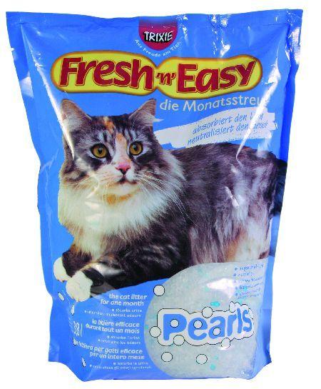 Trixie Fresh 'n' Easy, posip za mačke, perle, 3,8 l ( 4021 )