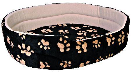 Trixie Krevet za pseCharly, 43 x 38 cm,crni sa šapicama ( 37011 )