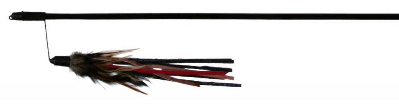 Trixie Štap za mačke sa kožnim trakama i perijem, 50cm ( 4550 )