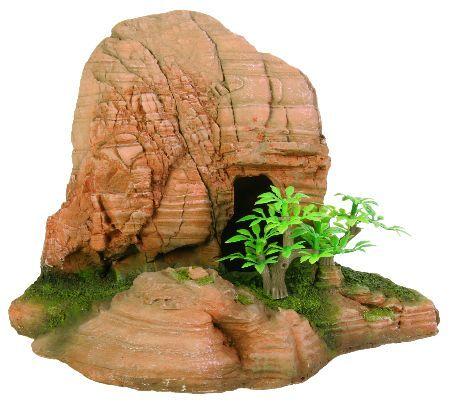 Trixie Stena sa rupom i biljkama, 21x14,5x14,5cm ( 8848 )