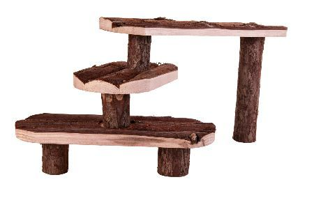 Trixie Stepenice za male zivotinje, prirodno drvo, 38 x 24 ( 6214 )
