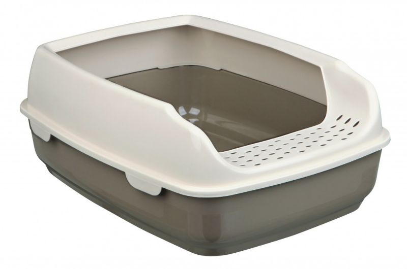 Trixie Toalet za mace DELIO sa ramom, 35x20x48cm,bordo/bez ( 40393 )
