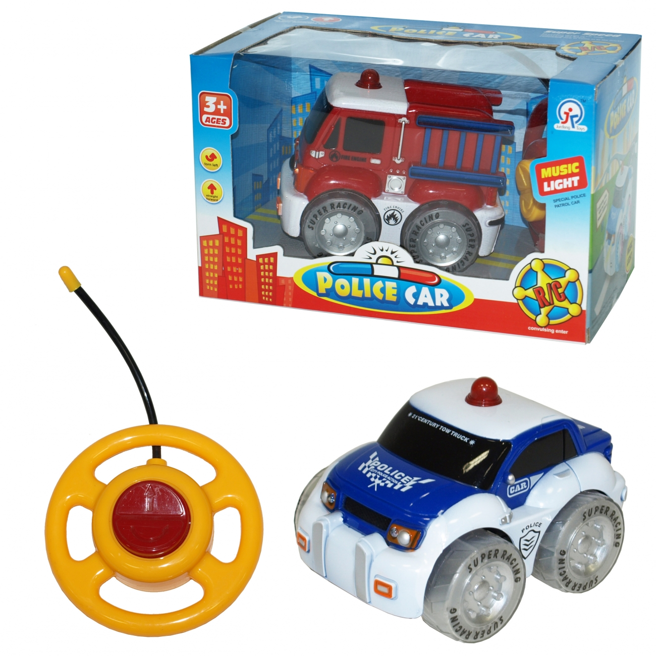 RC vozilo svetlo-zvuk-2 vrste ( 43-901000 )