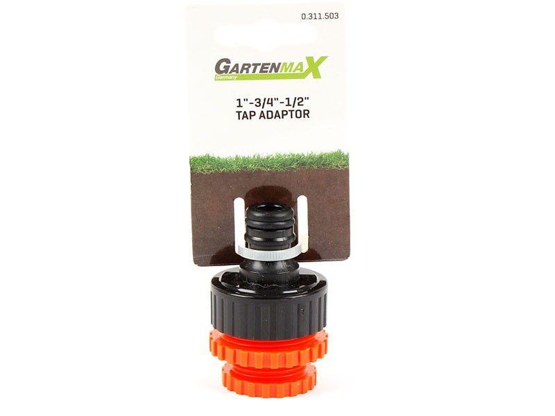 Gartenmax adapter za slavinu 1-34-12-plastični ( 0311503 )
