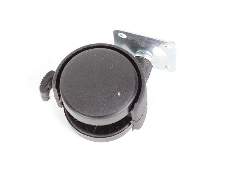 Haus točak plastični na 40mm sa kočnicom ( 76590008 )