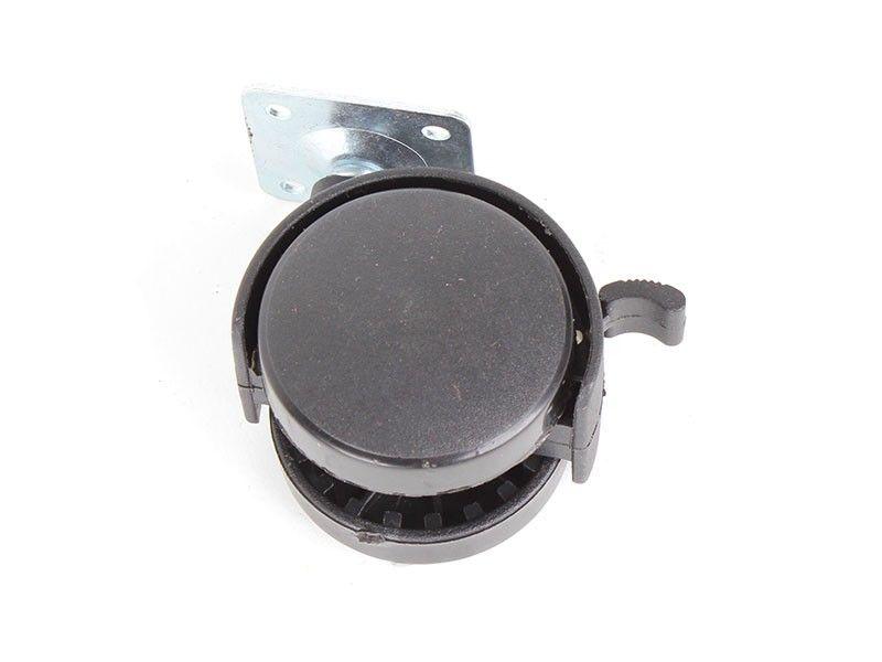 Haus točak plastični na 50mm sa kočnicom ( 76590009 )