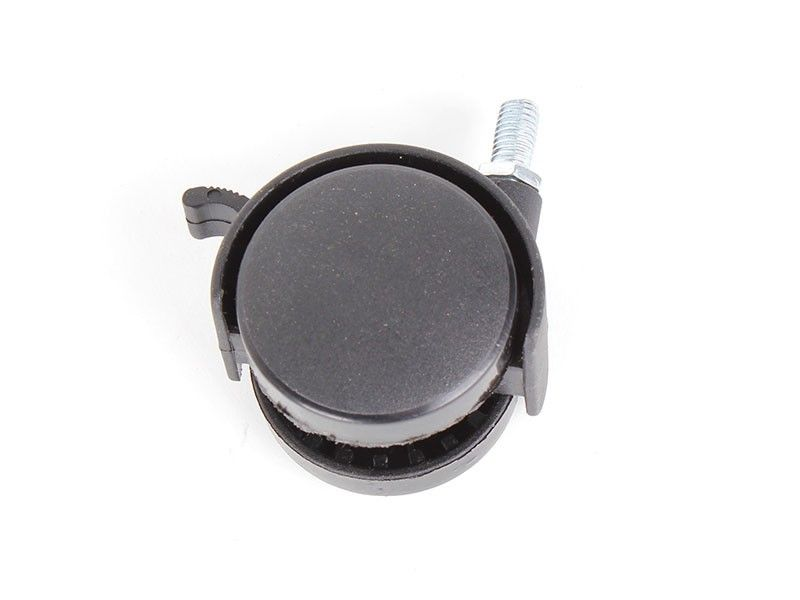 Haus točak plastični sa navojem 50mm i kočnicom ( 76590011 )