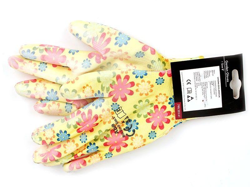 Womax rukavice baštenske 8 gu+p ( 79032361 )