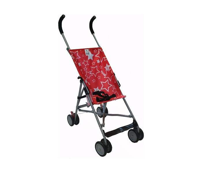 Baby Boss Kolica little stars red ( H208RED )