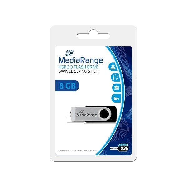 MediaRange 8GB Flexy drive MR908 USB Flesh Memorija ( UFMR908 )