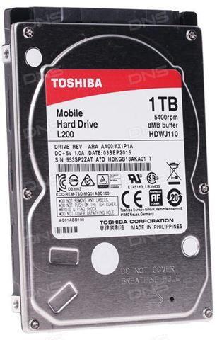 Toshiba 2,5 1TB SATA3 HDWJ110UZSVA ( 0140719 )