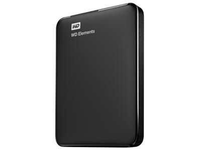 WD 2.5 Elements Portable 1TB WDBUZG0010BBK-WESN ( 0130719 )