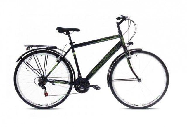 Capriolo Sunrise Tour Man 28/18HT Bicikl 20 crno-zeleni ( 917595-20 )