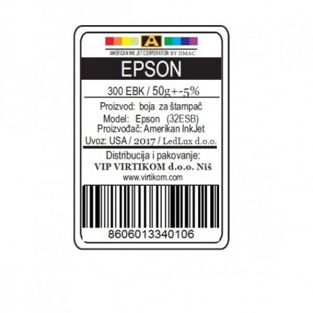 American Inkjet Epson SUBLIMACIONA CRNA 300EBK/1400/1430 WF/XP (32ESB/Z)