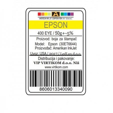 American Inkjet Epson ZUTA 400EYE/T66440/T67340/T67440/ECO-TANKS (30ET6644/Z)
