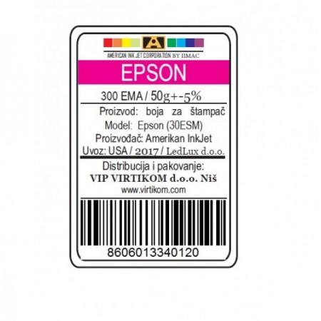 American Inkjet Epson SUBLIMACIONA MAGENTA 300EMA/1400/1430 WF/XP (30ESM/Z)
