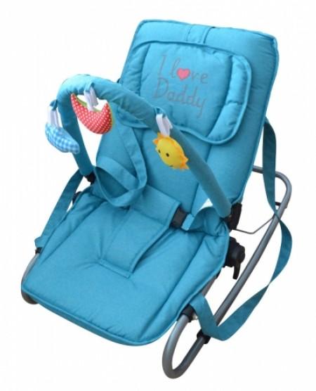 Puerri ležaljka I love Daddy - plava ( 5210144 )