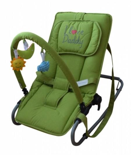 Puerri ležaljka I love Daddy - zelena ( 5210148 )
