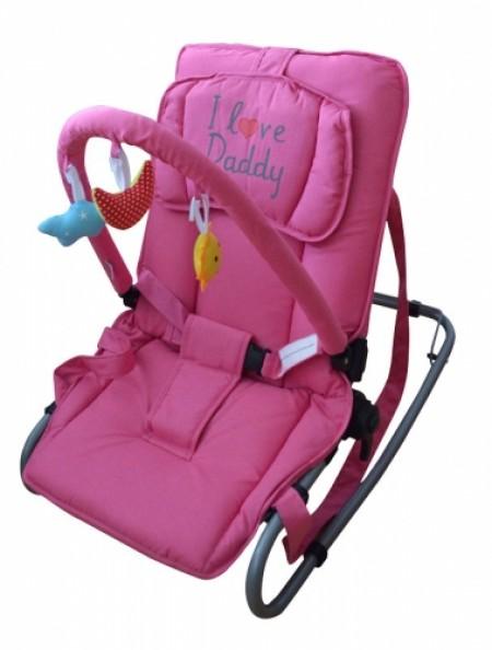 Puerri ležaljka I love Daddy - roze ( 5210146 )