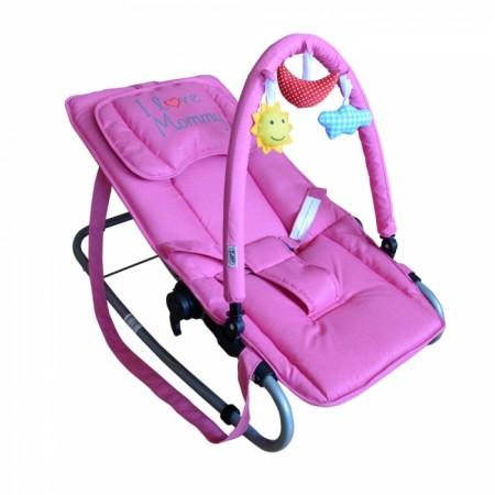 Puerri ležaljka I love Mommy - roze ( 5210145 )