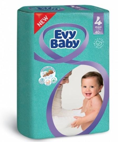 Evybaby pelene twinpack 4 Maxi 40 kom NOVO ( 1040125 )
