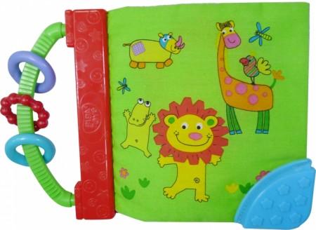 Biba Toys plišana knjiga drugari iz džungle sa glodalicom ( 6220654 )