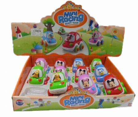 Hk Mini igračka Disney autići u displeju, 12 komada ( 6211247 )