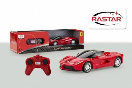 Rastar RC automobil Ferrari LaFerrari 1:24 - crv ( 6211179 )