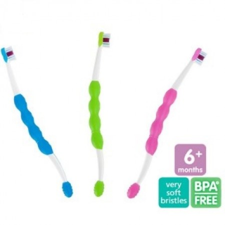 MAM četkica za učenje čišćenja zuba, 6m+ ( 1020022 )