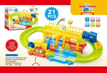 HK Mini igračka vozni park - sa mostićem ( 6600151 )