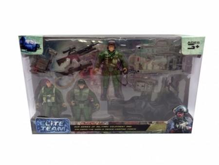 HK Mini igračka, vojnički set-elitna jedinica ( 6630037 )