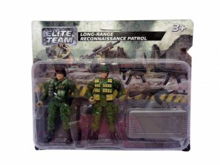 HK Mini igračka, vojnički set - izviđačka patrola ( 6630036 )