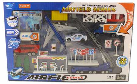 Veliki set Aerodromskih metalnih vozila ( HH727244 )