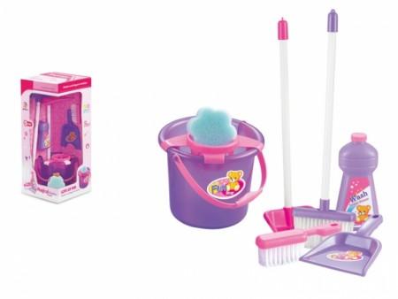HK Mini igračka, set za čišćenje-roze ( 6690025 )