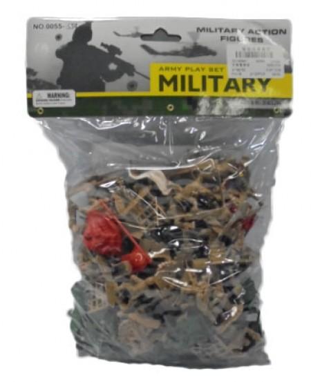 Hk Mini igračka vojnici u kesi, veći ( 6232373 )