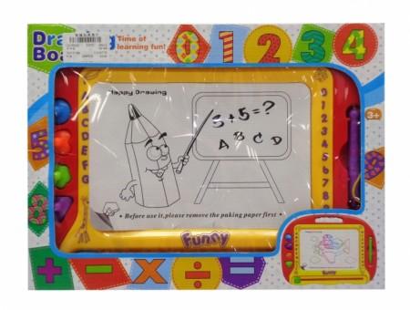 HK Mini igračka, tabla piši briši sa brojevima ( 6830013 )