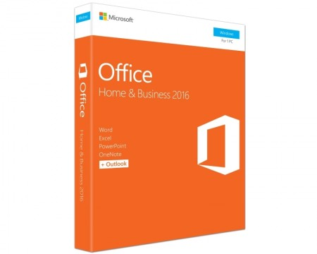 Microsoft Office 2016 FPP DVD P2 Home and Business 32bit64bit ( T5D-02710 )