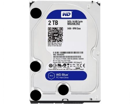 WD 2TB 3.5 SATA III 64MB 5.400rpm Blue ( WD20EZRZ )