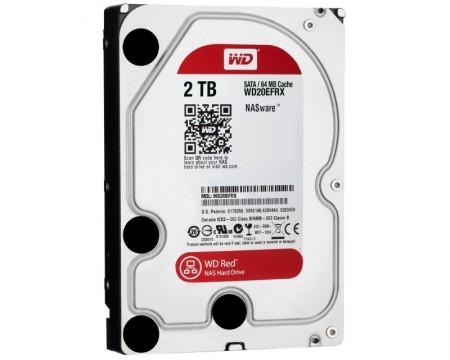 WD 2TB 3.5 SATA III 64MB IntelliPower WD20EFRX Caviar Red