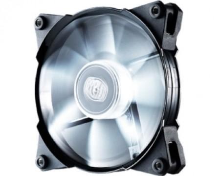 Cooler Master JetFlo 120 White LED 120mm ventilator ( R4-JFDP-20PW-R1 )