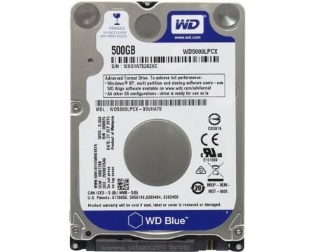 WD 500GB 2.5 SATA III 16MB 5.400rpm Blue ( WD5000LPCX )