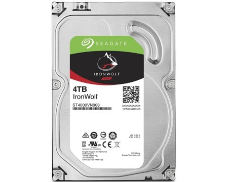 Seagate 4TB 3.5 SATA III 64MB IronWolf Guardian ( ST4000VN008 )