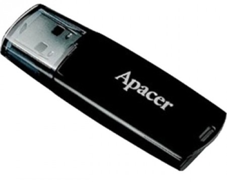 Apacer AH322 16GB USB 2.0 Black RP